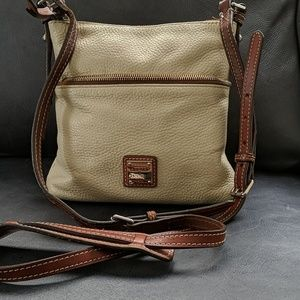 DOONEY & BOURKE LEATHER PEBBLE SACHEL